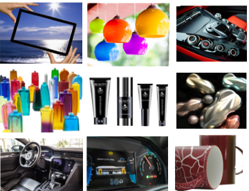 Waterborne Paints and Coatings used in Glass Decoration and Automotive Coatings