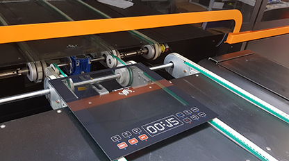 VEra digital glass printer transforms the possibilities for appliances glass by enabling multi-color printing of any design, in efficient industrial production runs.