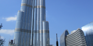 Burj Khalifa the world's tallest building with Ferro's surface application products