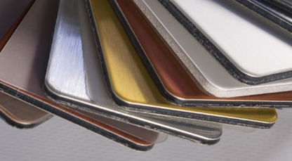 Metallic Lead-Free Flat Glass Enamels for Interior and Exterior Glass Applications